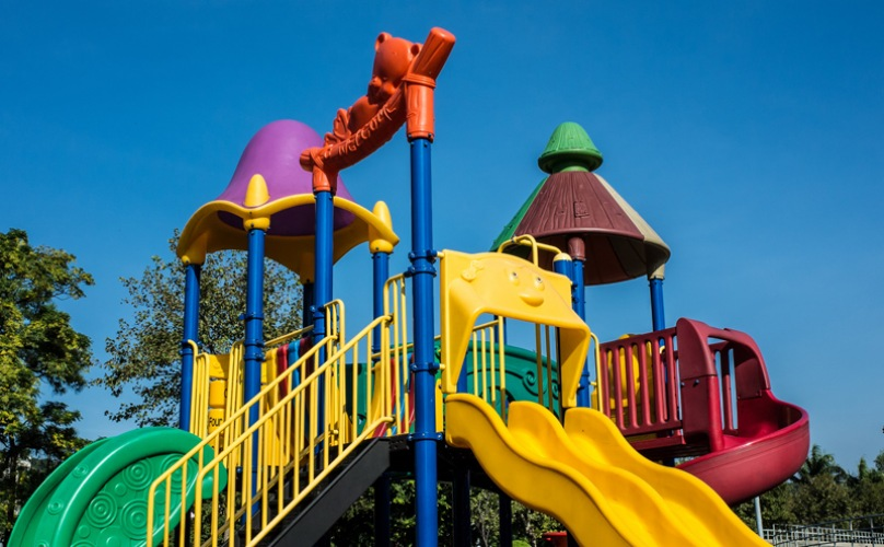 Slide in Tot-lot